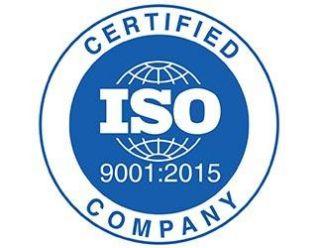 Вся продукция соответствует международному качеству ISO 9001 : 2015
