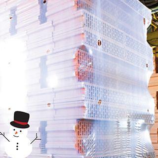 Экономить на паллетной упаковке ЛЕГКО, с термоусадочными пленками от «ЕВРОПОЛИМЕР»